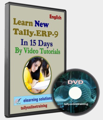 elearning solutions Tally Erp 9 In 15 days in English