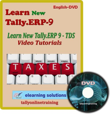 Elearning Solutions New Tally.Erp 9 TDS Video Tutorial in English