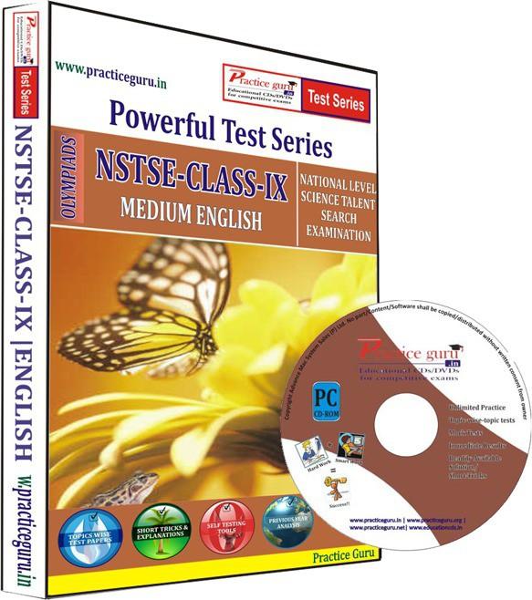 Practice Guru NSTSE Class 9 Test Series(CD)