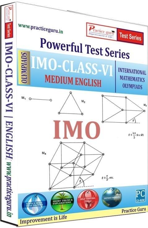 Practice Guru Powerful Test Series - IMO Medium English (Class - 6)