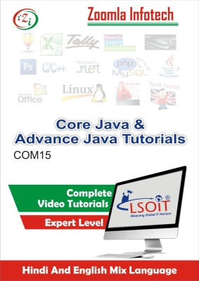 LSOIT Core Java Programming +Advance JavaProgramming Video Tutorials in hindi , Total 326 Lectures and Total Duration 36 Hours