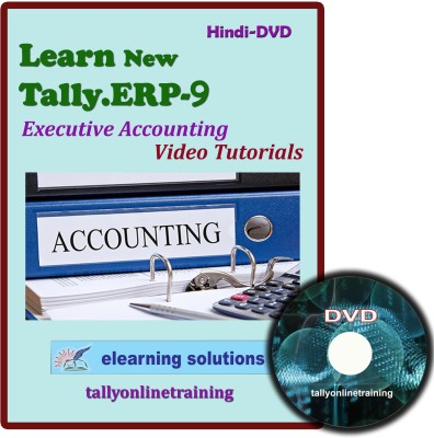 Elearning Solutions Tally.ERP 9 Executive Accouting Video Tutorial in Hindi