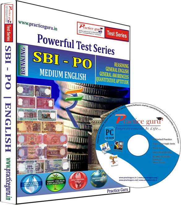 Practice Guru SBI PO Test Series(CD)