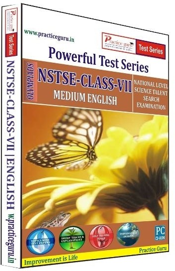 Practice Guru Powerful Test Series NSTSE Medium English (Class - 7)