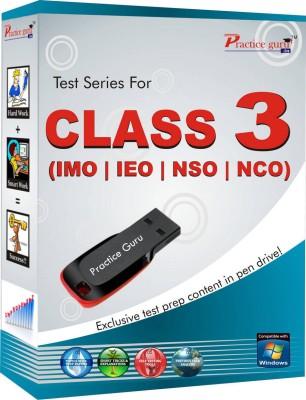 Practice Guru Class 3 - Combo Pack (IMO / NSO / IEO / NCO)