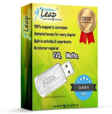 WisdomLeap Class 2 Maths and EVS