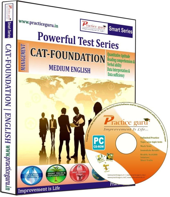 Practice Guru CAT Foundation