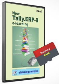 Elearning Solutions Tally ERP 9 Video Tutorial Mamory Card in English(Mamory Card)