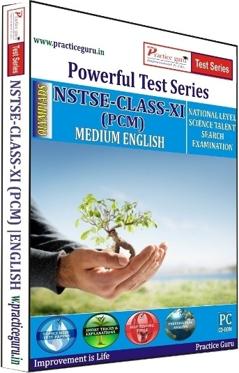 Practice Guru Powerful Test Series NSTSE PCM Medium English (Class - 11)(CD)