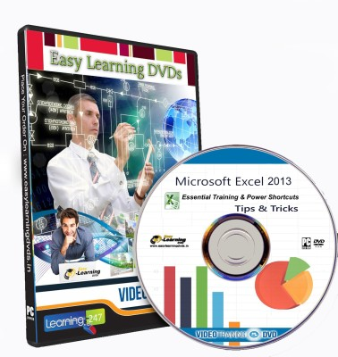 Easy Learning MS Excel 2013 & Power Shortcuts Video Training DVD