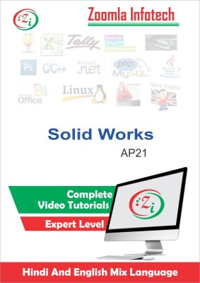 Zoomla Infotech SolidWorks Tutorials, Solidworks Learning Video Tutorials DVD/CD in Hindi