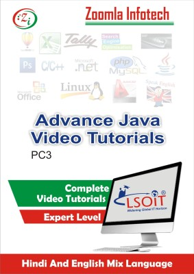 LSOIT Learn Advance Java Programming Video Tutorials in Hindi, Total 168 Lectures and Total Duration 20 Hours