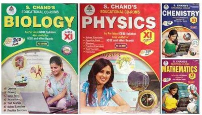 S.Chand PCMB- COMBO PACK CD FOR 11TH CLASS