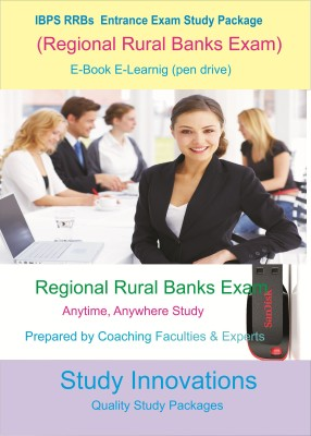 Study Innovations IBPS RRBs (Regional Rural Banks) Exam Study Package