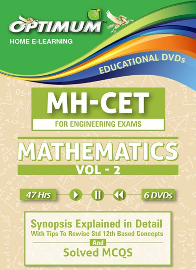 Optimum Educators CET-Mathematics- Vol-2(DVD)
