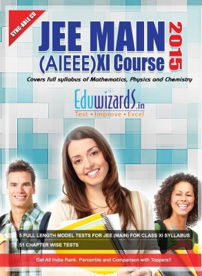 Eduwizards JEE Main (AIEEE) XI Course 2015 (CD Based Test Series)