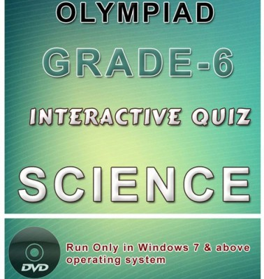 iBooks Class 6 Science Olympiad Interactive Quiz DVD