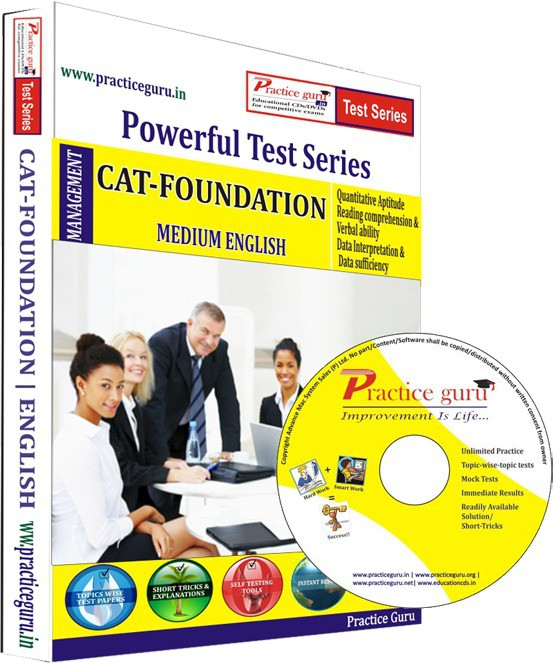 Practice Guru CAT Foundation Test Series(CD)