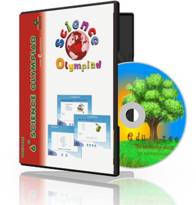 Edutree 6th Science Olympiad (In Englilsh ) Exam e Series -Interactive Tests(1 Interactive CD Pack - Prepared by Expert Team of teachers.)