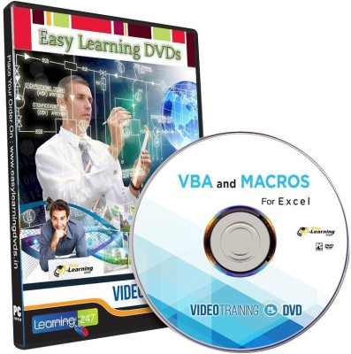 Easy Learning VBA and Macros For MS Excel Video Tutorial DVD