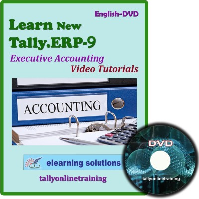 Elearning Solutions Tally.ERP 9 Executive Accouting Video Tutorial in English