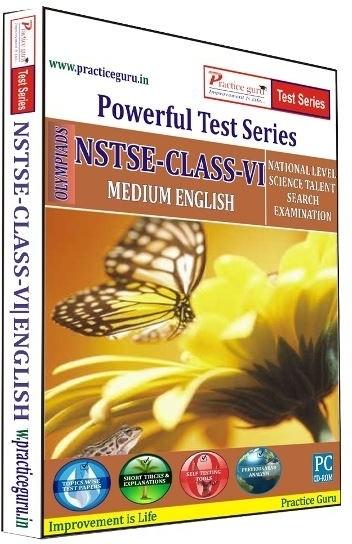 Practice Guru Powerful Test Series NSTSE Medium English (Class - 6)(CD)