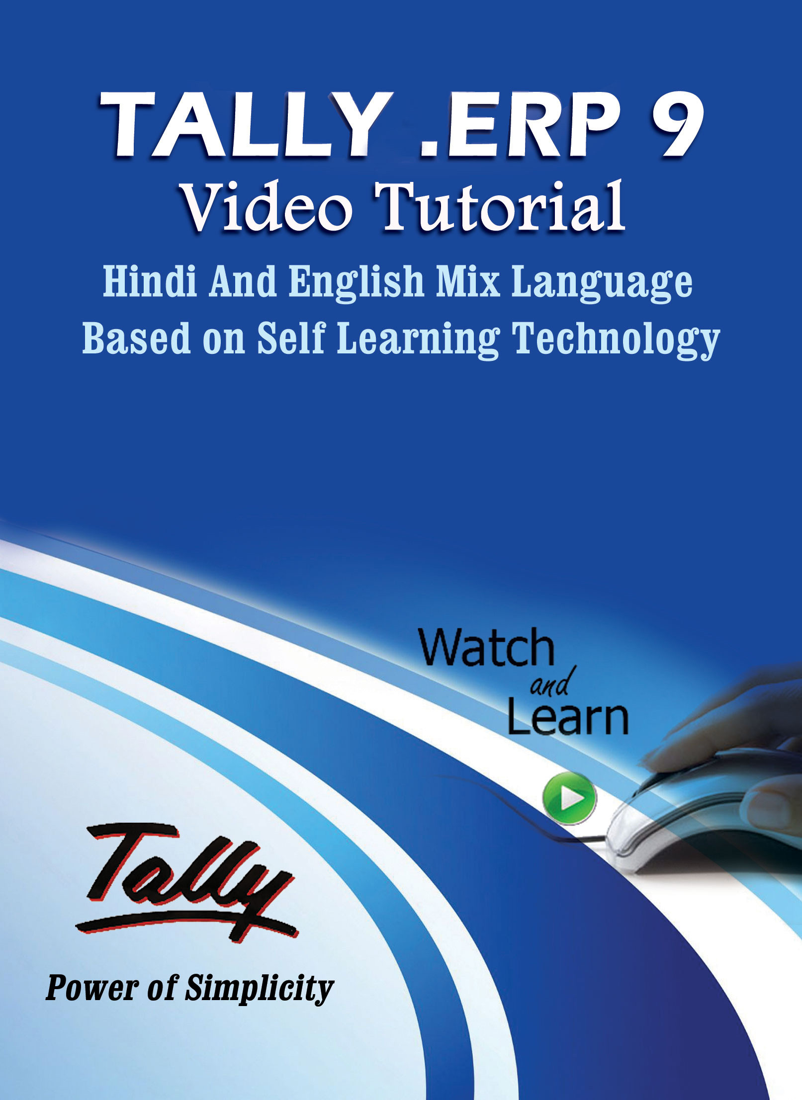 Lsoit Tally ERP 9.0 Tutorials DVD in Hindi and English Mix Language(DVD)