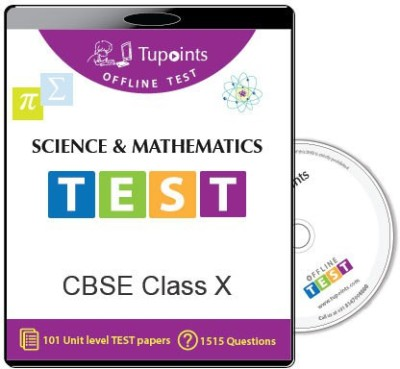 Tupoints Cbse Class 10 Science And Mathematics Offline Test