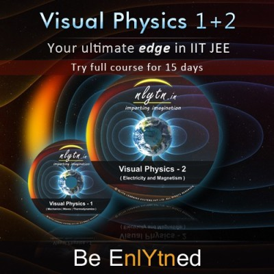 Nlytn Visual Physics 1 + 2 - Best Video Lecture Course for IIT JEE (DVD)- Covers complete XI syllabus, Electricity & Magnetism- (15 Days full course trial)