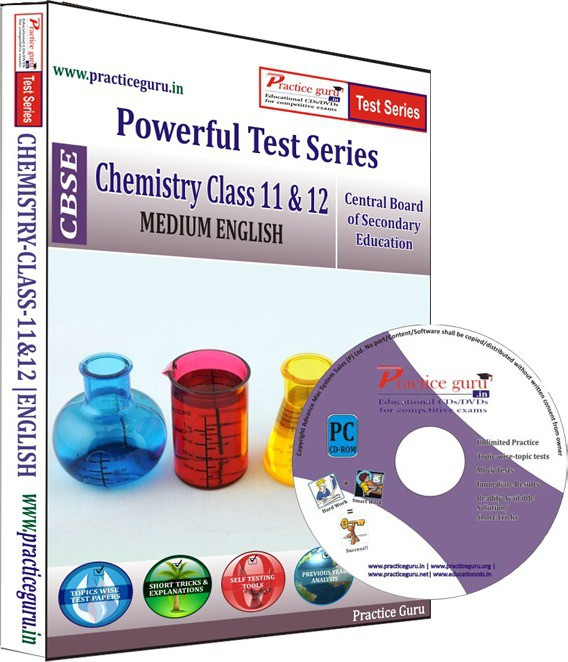 Practice Guru Chemistry Class 11 & 12 Test Series(CD)