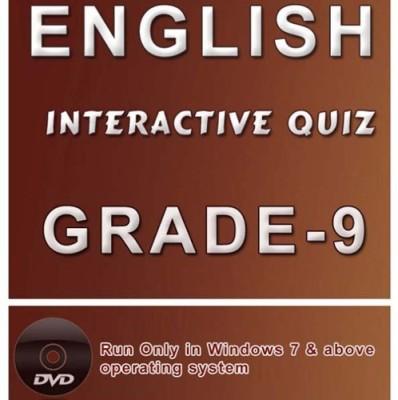 iBooks Class 9 English Interactive Quiz DVD