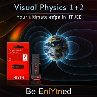 Nlytn Visual Physics I + II for IIT JEE - Advanced Animated Video Course - Covers complete XI, Electricity & Magnetism