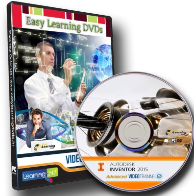 Easylearning Advanced Autodesk Inventor 2015 Video TrainingDVD