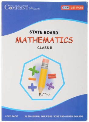 COMPRINT State Board 2nd Class Mathematics DVD
