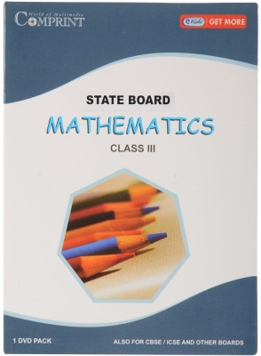 COMPRINT State Board Class 3Rd Mathematics DVD