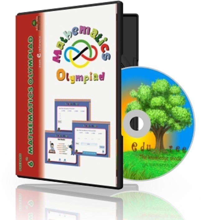 Edutree 6th Mathematics Olympiad (In Englilsh ) Exam E Series - Interactive Tests(1 Interactive CD Pack - Prepared by Expert Team of Teachers.)