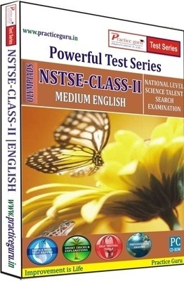Practice Guru Powerful Test Series NSTSE Medium English (Class - 2)