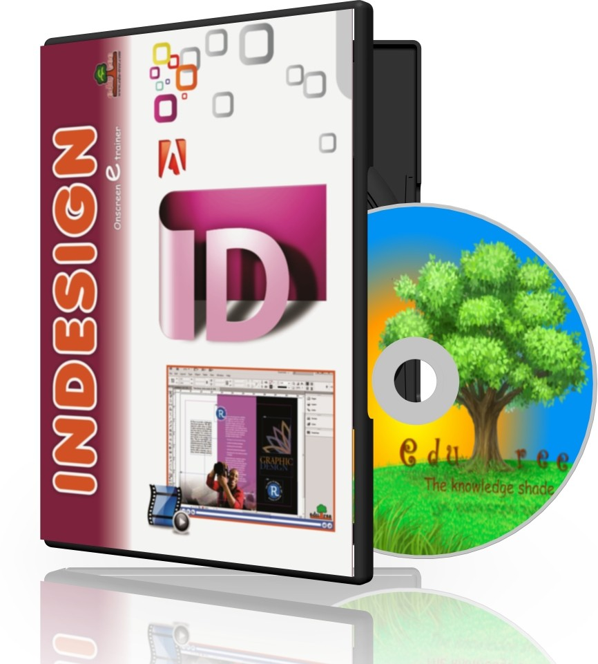 Edutree - Learn InDesign CS6 ( In Hindi ) OnScreen Tutor (4 - 5 Hrs Duration)(1 CD Pack - Prepared by Indesign Certified Specialist & Trainer (ICST))