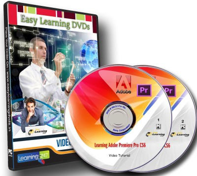 Easy Learning Adobe Premiere Pro CS6 Training Video Tutorials On 2 DVDs