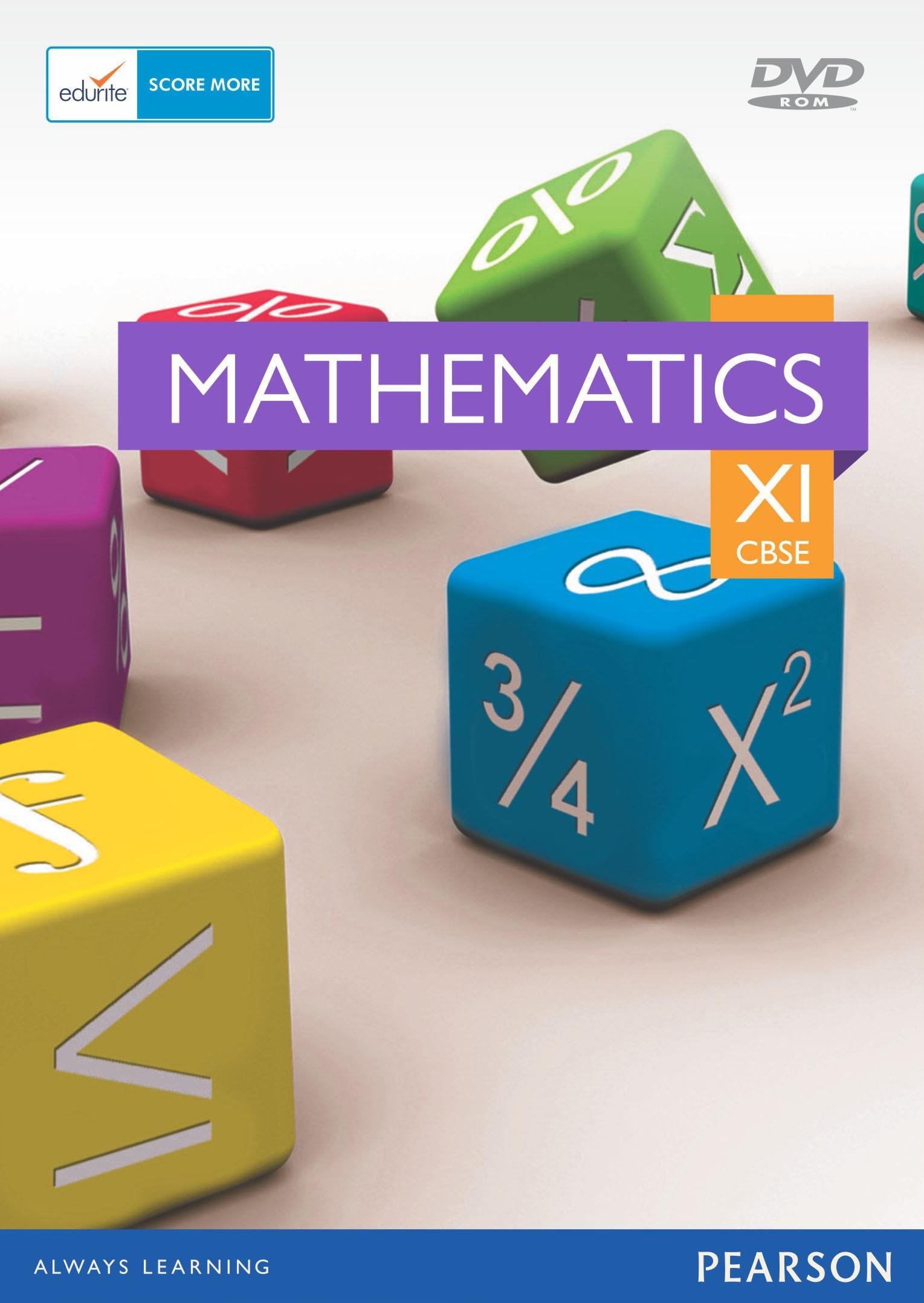 Edurite CBSE Class 11 Maths(DVD)