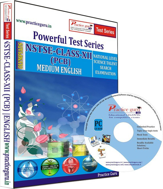 Practice Guru NSTSE Class 12 (PCB) Test Series(CD)