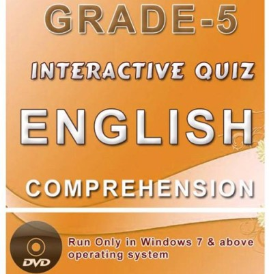iBooks Class 5 English Comprehension Interactive Quiz DVD