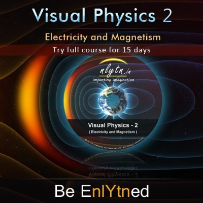 Nlytn Visual Physics 2 - Best Video Lecture Course for IIT JEE Physics (DVD)- Covers JEE Electricity & Magnetism syllabus of Std XII - (15 Days full course trial)