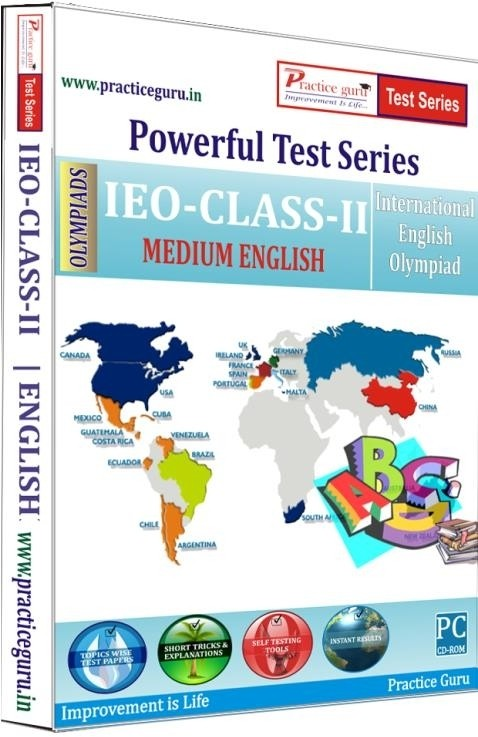 Practice Guru Powerful Test Series - IEO Medium English (Class - 2)