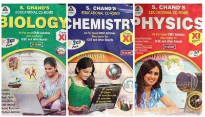S.CHAND PHYSICS/CHEMISTRY/BIOLOGY- COMBO PACK CD FOR 9TH CLASS