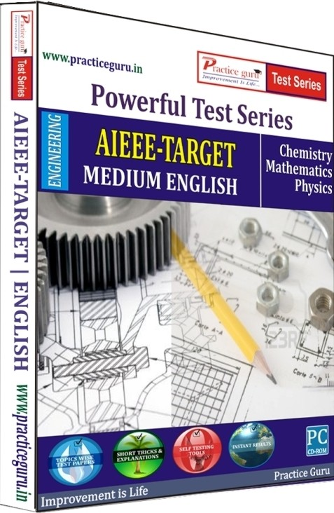 Practice Guru Powerful Test Series AIEEE - Target Medium English