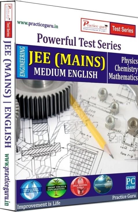 Practice Guru Powerful Test Series JEE (Mains) Medium English