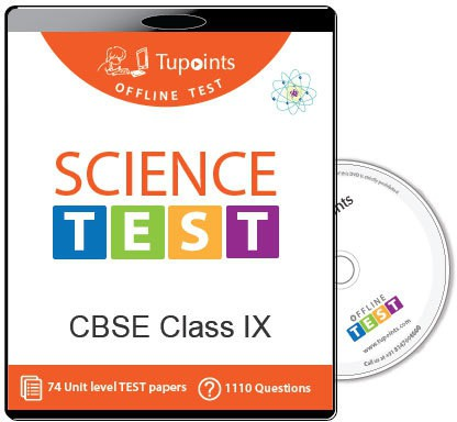 Tupoints Cbse Class 9 Science Offline Test(DVD)
