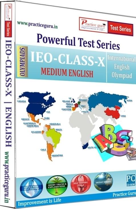 Practice Guru Powerful Test Series - IEO Medium English (Class 10)(CD)