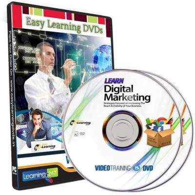 Easy Learning Digital Marketing 12 Video Course On 2 DVDs